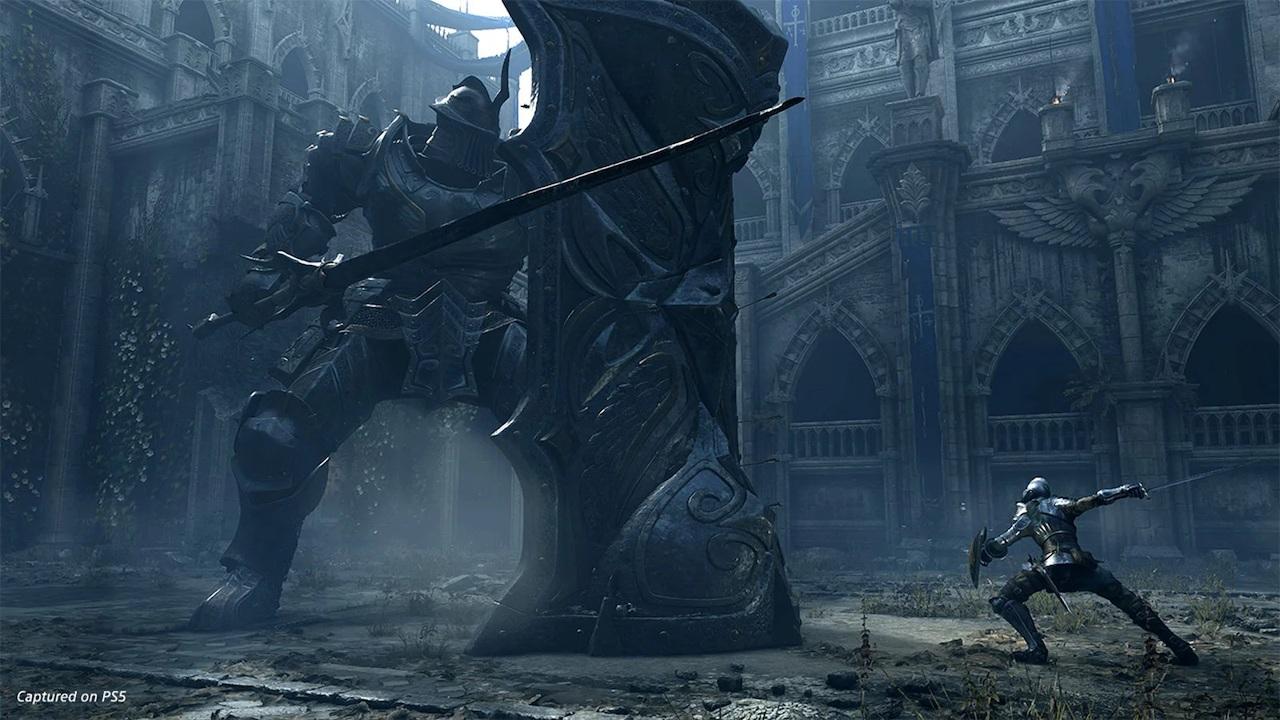 Demon's Souls リメイク] 塔の騎士(PS5 のスクリーンショット) | enjoyPS4